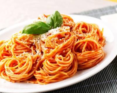 i2142 spaghetti a la sauce tomate