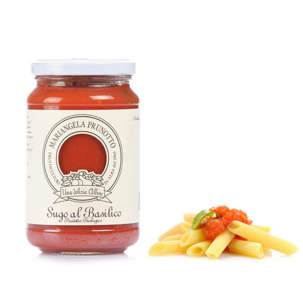 Sauce tomate et basilic bio Prunotto Épicerie Fine Grocery Store Tomates et Sauces Come à lÉpicerie Take Away Delivery Luxembourg 1