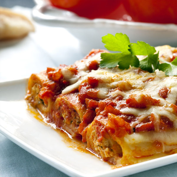 Come Delivery Cannelloni a la Carne Come à la Maison delivery Take Away Luxembourg