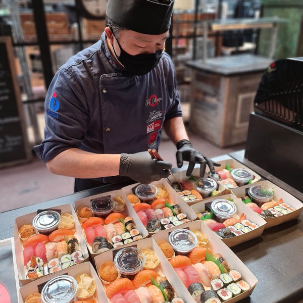 Come aux Sushis Take Away Delivery Luxembourg