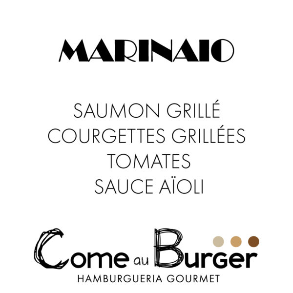 Hamburger Marinaio Come aux Burger Come à la Maison
