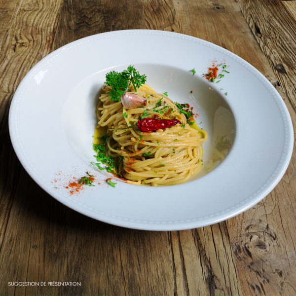 Come Delivery Spaghetti aglio olio peperoncino Come à la Maison Delivery Take Away Luxembourg 1