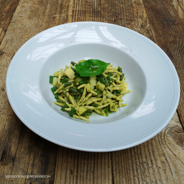 Come Delivery Trofie au Pesto Genovese Come à la Maison Delivery Take Away Luxembourg 1