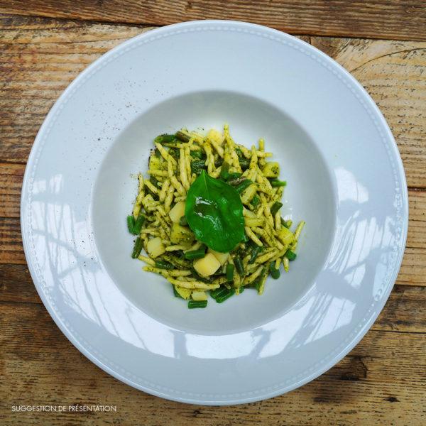 Come Delivery Trofie au Pesto Genovese Come à la Maison Delivery Take Away Luxembourg 2