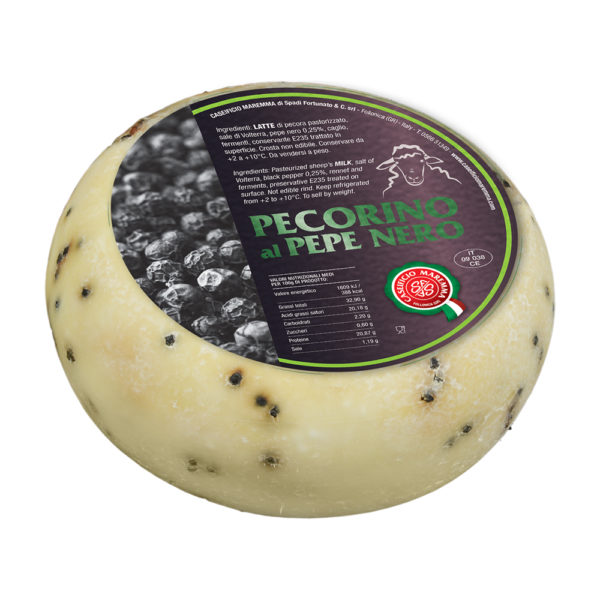 Fromage Pecorino al Pepe Nero Come a lepicerie Come Delivery Come a la Maison Delivery and Takeaway Luxembourg