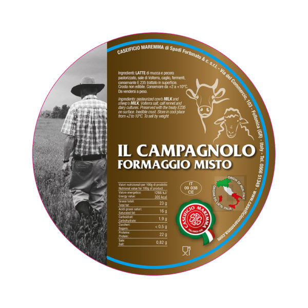 Il Campagnolo Formaggio Misto Fromages Come a lepicerie Come Delivery Come a la Maison takeaway Delivery Luxembourg 3