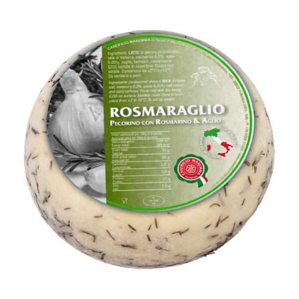 Pecorino al rosmarino e aglio Fromage Come Delivery Come à lépicerie Come à la Maison 3