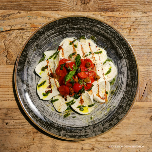 Salade Caprese et Frisella Come Delivery Come a la Maison Food Delivery and Takeaway Luxembourg 2