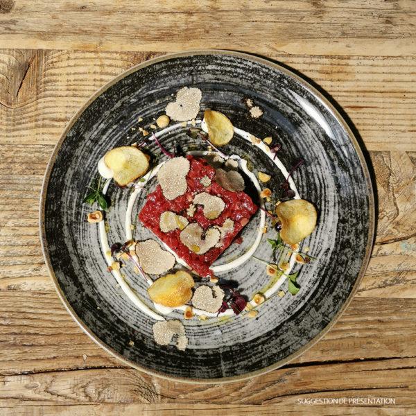 Tartare di Manzo à la Truffe Come Delivery Come a la Maison Food Delivery and Takeaway Luxembourg 1