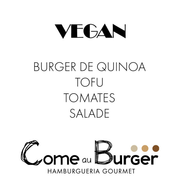 Hamburger Vegan Come aux Burger Come à la Maison