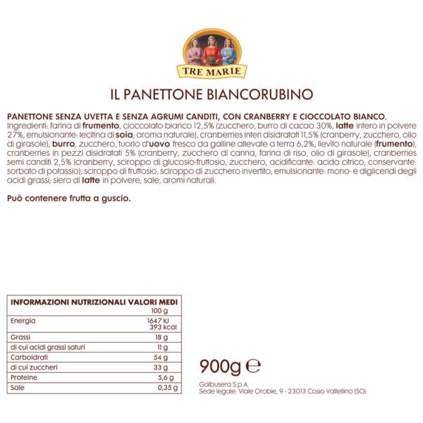 PANETTONE BIANCORUBINO Come Delivery Epicerie fine en ligne Take Away Delivery Luxembourg 2
