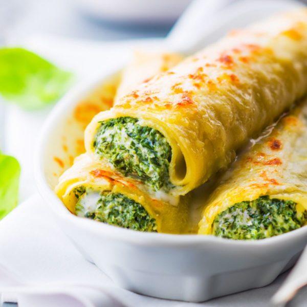 cannelloni aux epinards