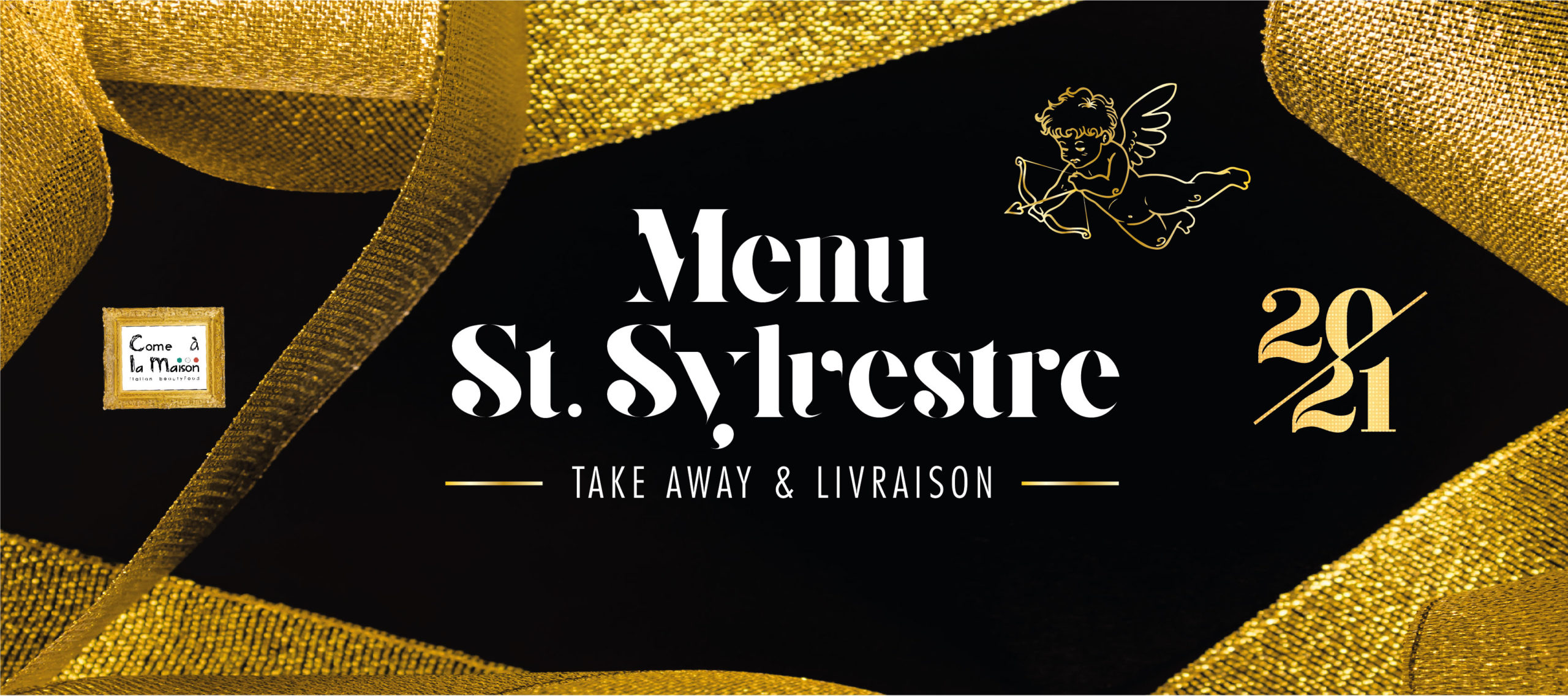 Menu de la Saint Sylvestre 2020 21 Restaurant Come a la Maison Take Away Delivery Luxembourg